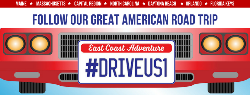 Follow our great American road trip DriveUS1