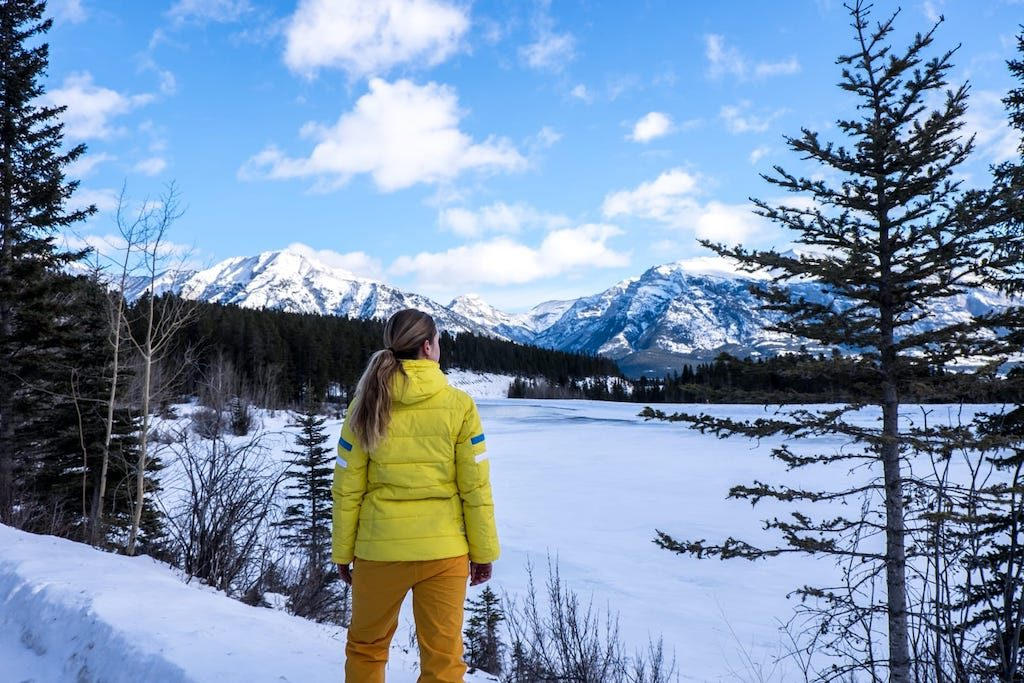 Becki Enright of Borders of Adventure on the Travel Alberta Captivate campaign | pic: Becki Enright