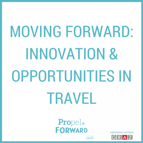Keynote: Moving Forward: Innovation and Opportunities in Travel